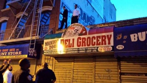 Brooklyn Shomrim graffiti
