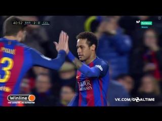 Барселона - Сельта 2:0. Неймар