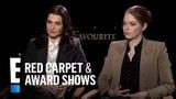 Emma Stone Teaches Rachel Weisz What 'Breaking' Means E! Red Carpet &amp Award Shows
