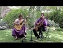 Paola Requena y Víctor Melancolía para dos guitarras