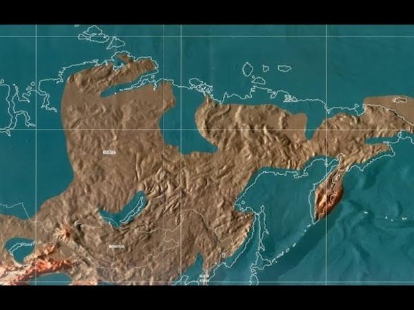 Какие территории уйдут под воду до 2020 года,и как изменится облик Земли.Россияне в шо ке