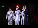 170817 Yongguk x Shihyun x JinYoung x Woodam (BEAST - On Rainy Days Karaoke Live) @ HeyoTV
