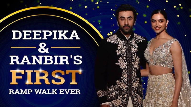 Deepika Padukone Ranbir Kapoor set the ramp on fire for the first time | Pinkvilla