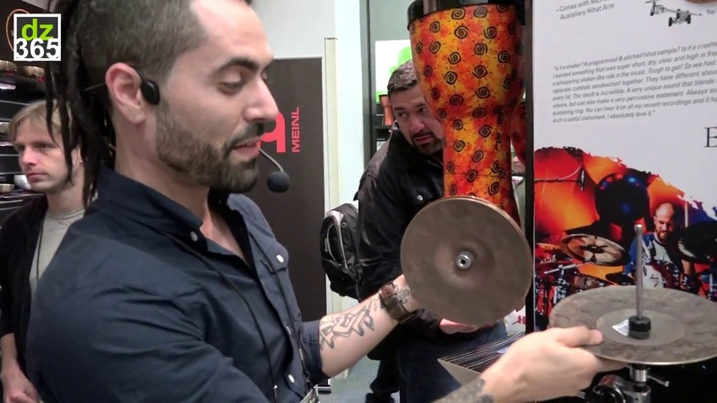 Meinl Cymbals - 8 Benny Greb Crasher Hats - with The Orlando Drummer