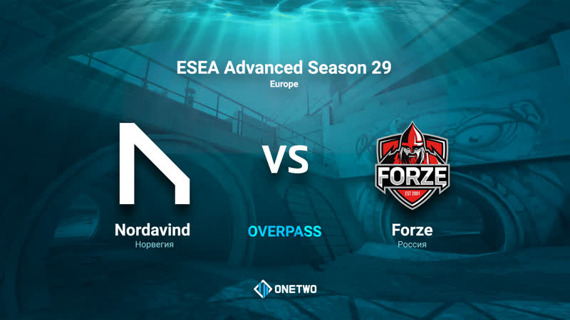 ESEA Advanced Season 29 Europe | Nordavind vs forZe | BO3 | de_dust2 | by Afor1zm