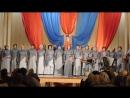 Народный хор Сараевские зори - Над окошком месяц