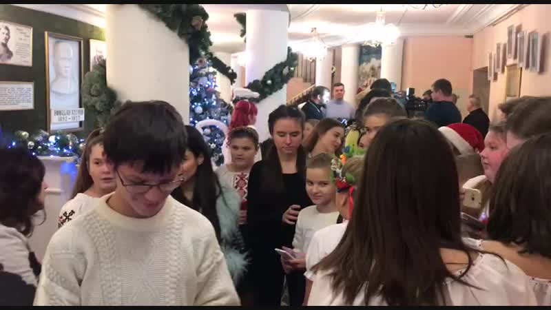 ◘ Анна Тринчер на благотворительном фестивале Острів Різдва ◘