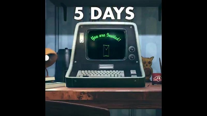 5 дней до начала BE3!