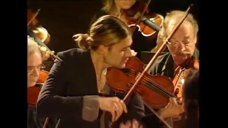 David Garrett BACH Concerto N°2 E Major 1042 II mov Adagio