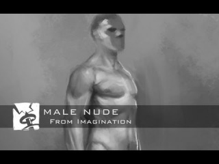 Painting a Male Nude from Memory