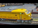 Fantastic RC train display in HUGE 1/22.5 scale!
