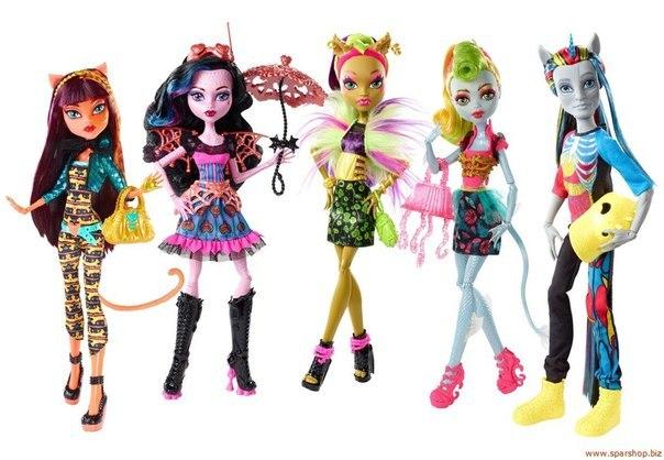 монстр хай гибриды куклы купить