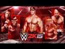 WWE 2k15 Tag Team Match Индеров и Кофи Кингстон vs Брей Уайятт и Тайсон Кидд Рестлер WWE