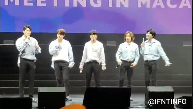 [IFNTinMacau] Hi INFINITE Bye Dongwoo - - 인피니트