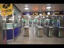 Sweden, Stockholm, subway ride from Aspudden to Liljeholmen, 1X elevator, 2X escalator
