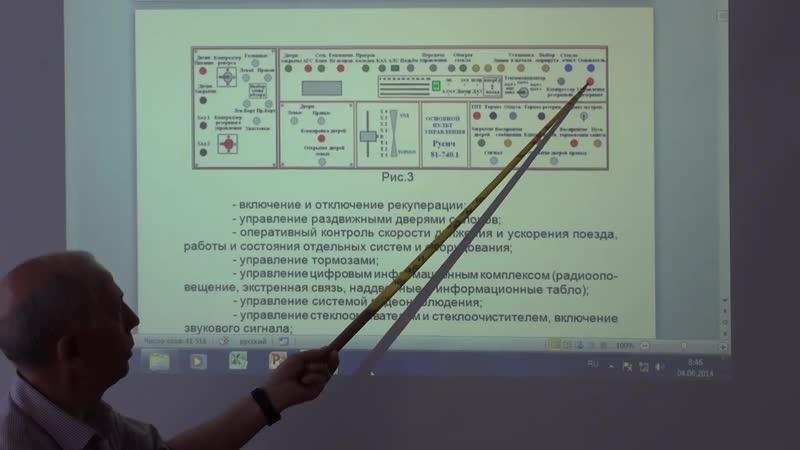 Оборудование вагонов Русич Кабина управления