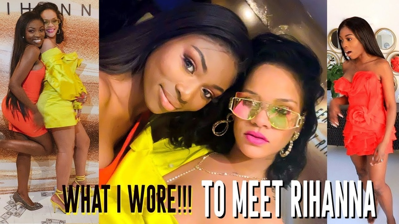 WHAT I WORE TO MEET RIHANNA YOU WONT BELIEVE WHAT SHE GAVE ME | VLOG 2