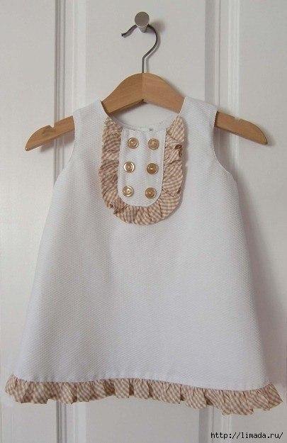 Крестильные платья для девочек выкройка