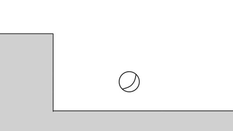 прыгающий мячик