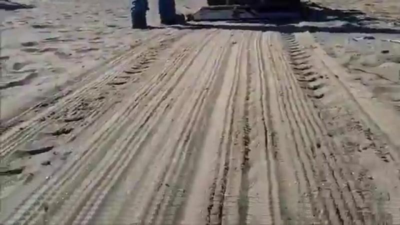 Как чистят пляжи в Америке