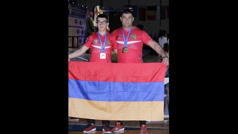Вардан Степанян - бронзовый призер чемпионата Европы по армрестлингу