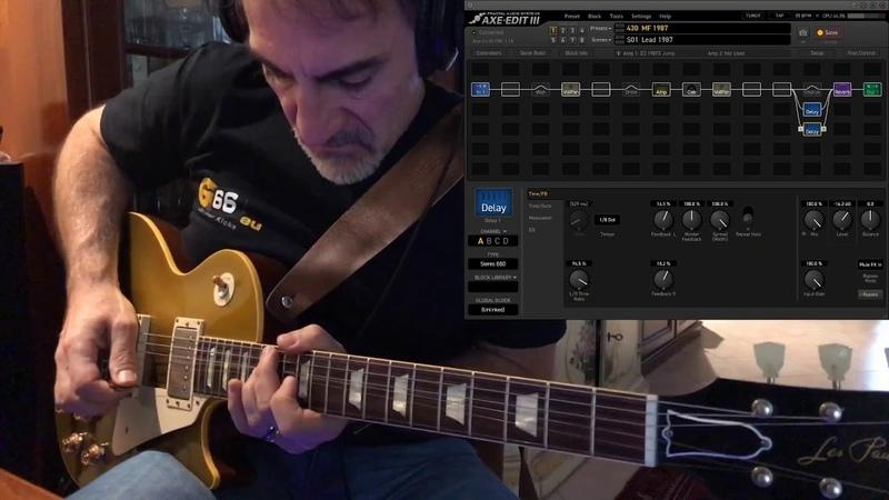 Fractal AXE FX III - Marshall Plexi 1987 and JTM45 - Blues time