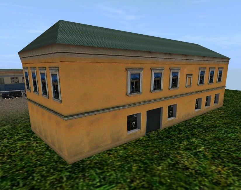 TRS: Дом 2-этажный (с ночной текстурой)