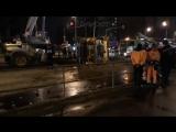 Прямая трансляция с места крупной аварии на Рязанском проспекте в Москве