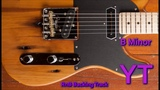 Smooth RnB Guitar Backing Track B Minor