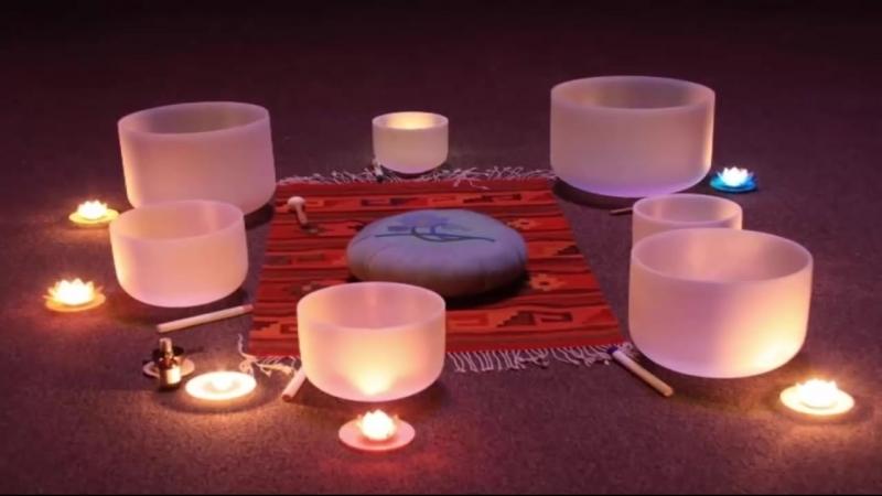 Хрустальные поющие чаши 432 Гц. Оздоровление, гармония тела и духа. Возрождает ж
