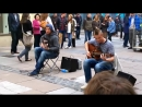 Queen - Bohemian Rhapsody cover street performers - Showhawk Duo