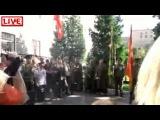 Митинг в память о богибших на ВОВ,возложение цветов 22.06.14 Харьков
