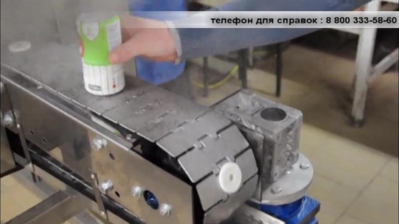 Термоусадка слив-этикетки - машина ТМ-10 ПТ