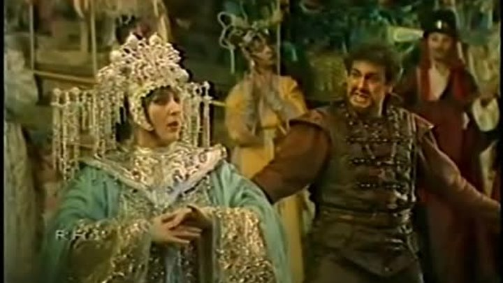 Turandot (Maazel; Dimitrova, Domingo, Ricciarelli) better quality.-