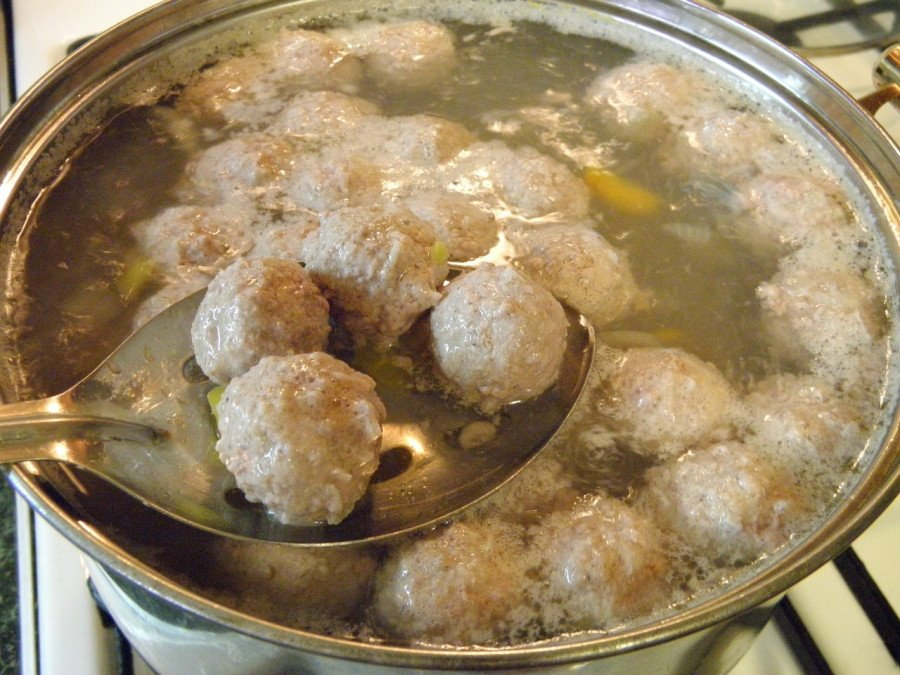 Фрикадельки рецепт для супа рецепт пошагово