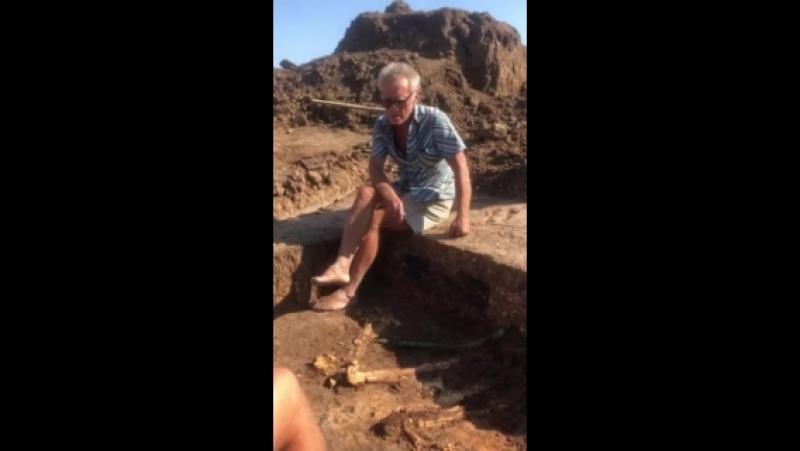 Археолог Генадій Тощев розповідає про унікальну знахідку в Пологівському районі