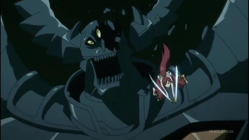 Топ 10 эпических моментов из аниме Сказка о Хвосте феи