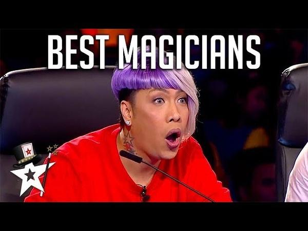 BEST MAGICIANS Around The World   Magicians Got Talent