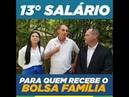 Bolsonaro promete 13º para quem ganha bolsa família