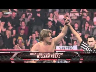 [Crossface] Santino Marella vs. William Regal: Intercontinental Championship - Raw 10.11.2008