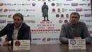 Кузбасс Родина Послематчевая пресс конференция