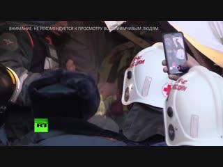 Одиннадцатимесячного ребёнка достали живым из-под завалов дома в Магнитогорске