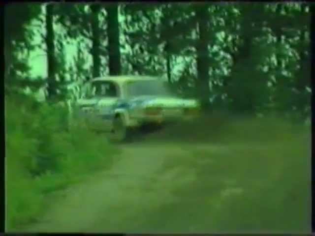 AZLK 1600 SL Rallye Lada VFTS. 1000 lakes rally 1985