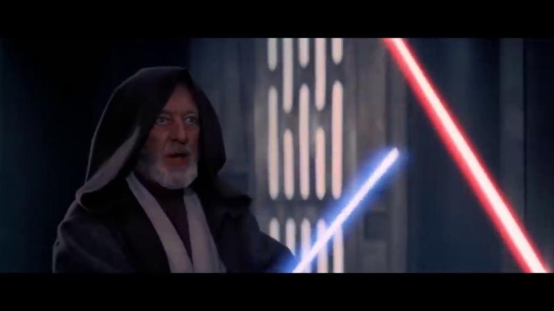 Obi Wan vs Vader Re-Cut