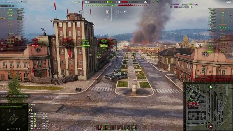 World of Tanks FV4005 Stage II 7 Kills 13K Damage