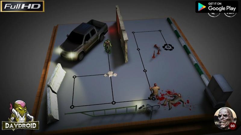 Андроид прохождение Zombie GO • Игра головоломка в пошаговом режиме