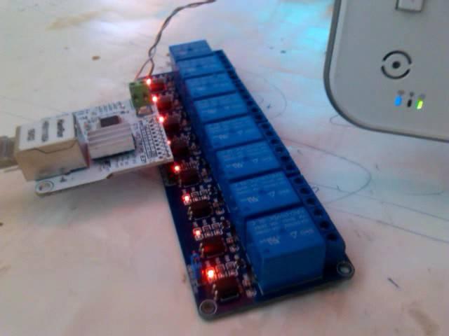 ENC28J60 Network Module 8bit Network Contrller Smart Home For 8Bit Relay Module