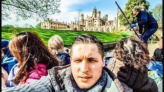 Мой преподаватель - выпускник Кембриджского Университета (University of Cambridge)