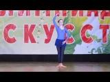 Кузина Юля. Чемпионат России 2014г.  акробатический танец.  16 место.  юниоры