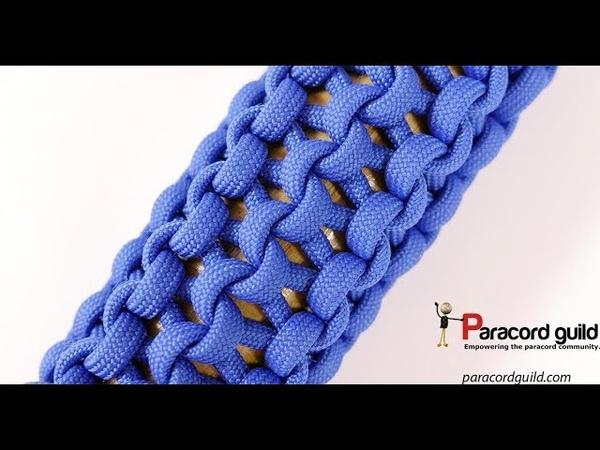 Multiple strand conquistador braid- paracord wrap
